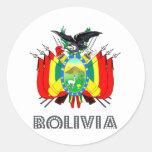 Bolivian Emblem Stickers