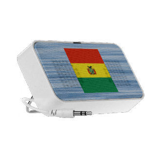 Bolivian Flag Floating on water Travelling Speakers