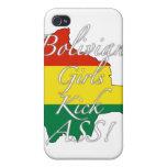 Bolivian Girls Kick Ass! iPhone 4/4S Cases