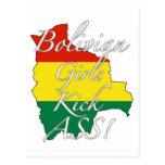 Bolivian Girls Kick Ass! Postcards