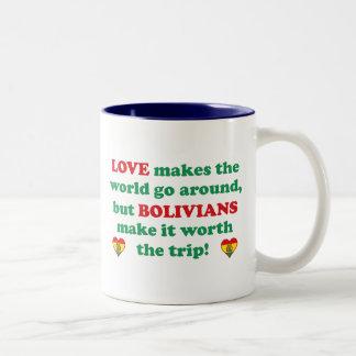 Bolivian Love Two-Tone Coffee Mug