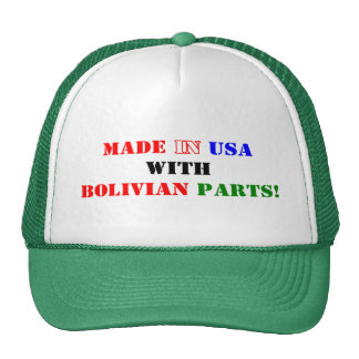 BOLIVIAN PARTS TRUCKER HAT