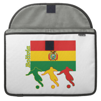 Bolivian Soccer Players Sleeve For MacBooks