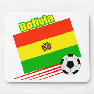 Bolivian Soccer Team Mouse Pad