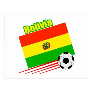Bolivian Soccer Team Postcard