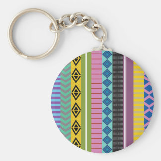 Bolivian stripes keychain