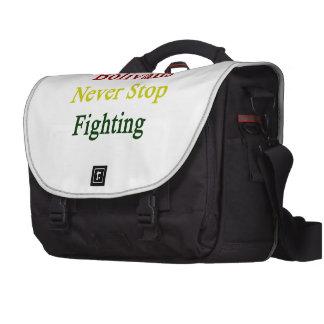 Bolivians Never Stop Fighting Computer Bag