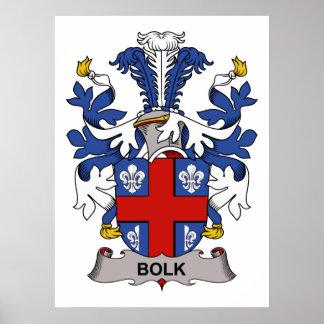 Bolk Family Crest Poster