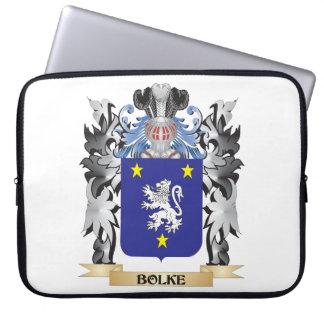 Bolke Coat of Arms - Family Crest Laptop Sleeve