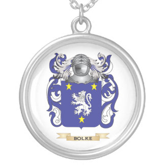 Bolke Coat of Arms (Family Crest) Custom Necklace