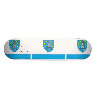 Bolkow, Poland flag Skate Board