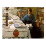 Bolla en la biblioteca postales