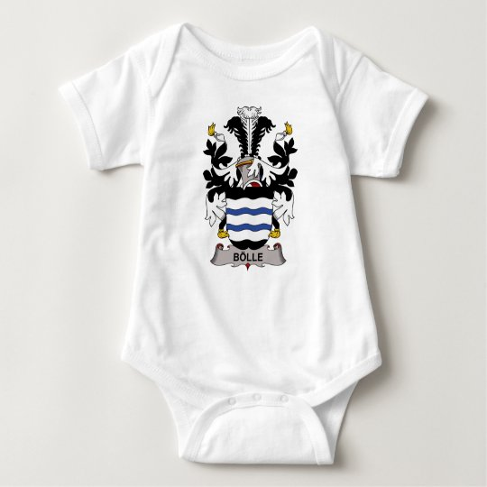 Bolle Family Crest Baby Bodysuit