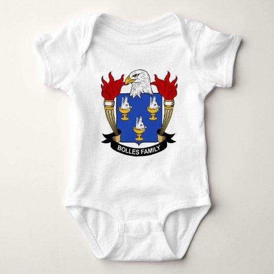 Bolles Family Crest Baby Bodysuit