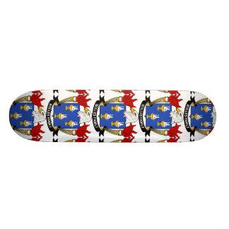 Bolles Family Crest Custom Skateboard