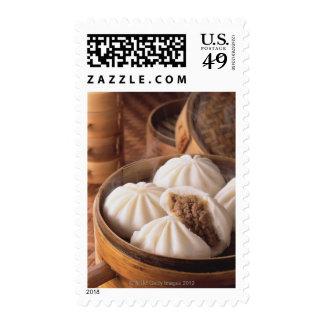 Bollo cocido al vapor timbre postal
