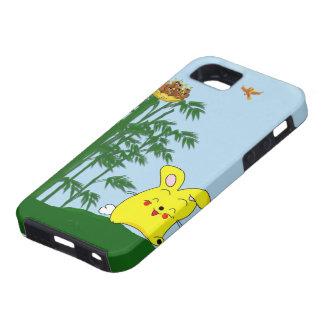 Bollo feliz del bollo iPhone 5 Case-Mate protector