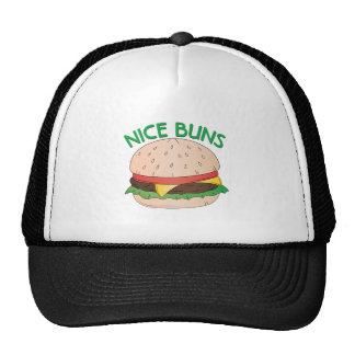 Bollos agradables gorras de camionero
