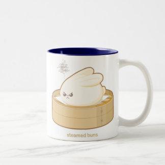 Bollos cocidos al vapor taza