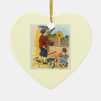 ¡bollos de la Caliente-cruz!  ¡bollos de la Adorno De Cerámica En Forma De Corazón