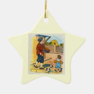 ¡bollos de la Caliente-cruz!  ¡bollos de la Adorno De Cerámica En Forma De Estrella