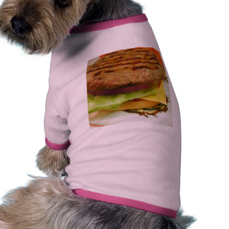 Bollos de los tomates de la lechuga de las empanad camisas de perritos