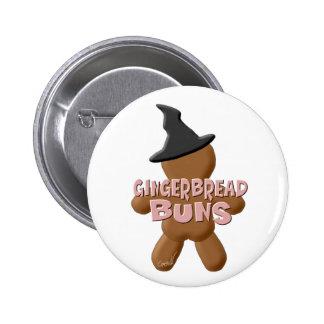 Bollos del pan de jengibre de Halloween Pins