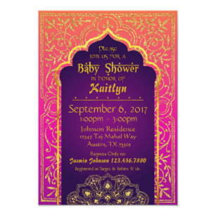Arabian Invitations Zazzle