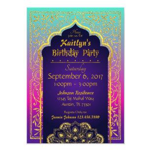 Arabian Nights Invitations Announcements Zazzle