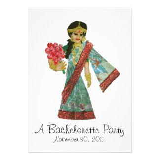 Bollywood Bachelorette Party invitation