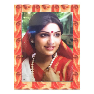 Bollywood diva actress Indian beauty cinema girls Letterhead