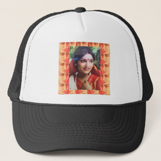 Bollywood diva actress Indian beauty cinema girls Trucker Hat