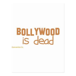 Bollywood es muerto tarjetas postales