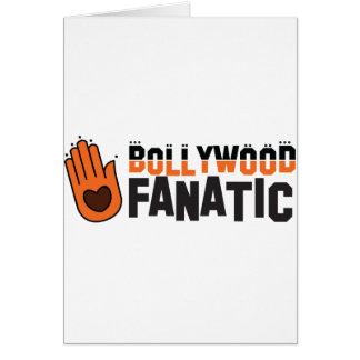 Bollywood fantatic greeting card