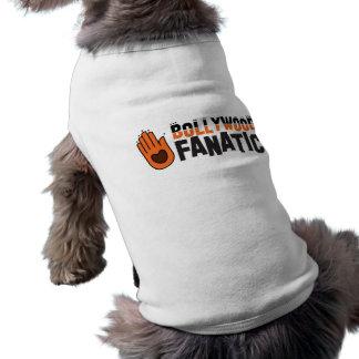 Bollywood fantatic playera sin mangas para perro