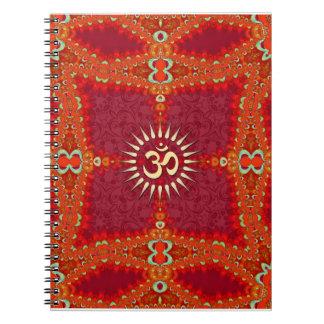 Bollywood OM Goddess Wedding Journal Notebook