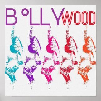 Bollywood Vibrance Poster with Samira