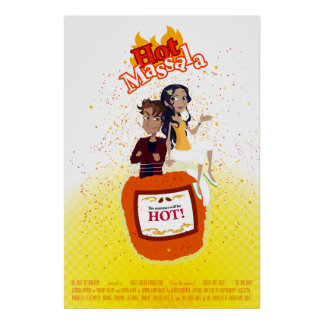 "Bollywood Wannabe ""Hot Massala"" Poster"