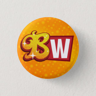 Bollywood Wannabe Small Logo Button
