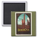Bologna 2 Inch Square Magnet