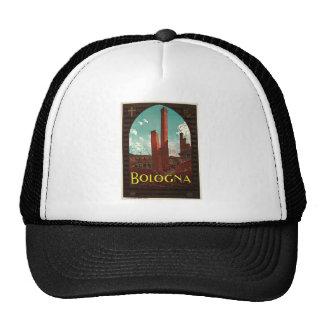 Bologna Bononia Italy Vintage Travel Trucker Hat