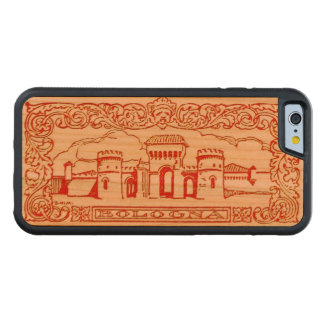 Bologna Italy antique vintage art woodcarving seal Carved® Cherry iPhone 6 Bumper Case
