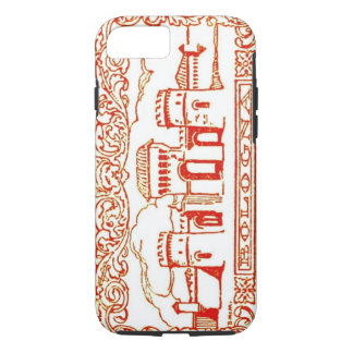 Bologna Italy antique vintage art woodcarving seal iPhone 7 Case