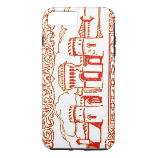 Bologna Italy antique vintage art woodcarving seal iPhone 7 Plus Case