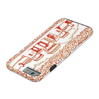 Bologna Italy antique vintage art woodcarving seal Tough iPhone 6 Case