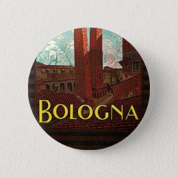 Bologna Pinback Button