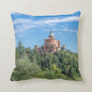 Bologna Sanctuary of San Luca throw cushion