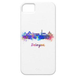 Bologna skyline in watercolor iPhone SE/5/5s case