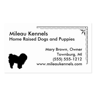 Bolognese Double-Sided Standard Business Cards (Pack Of 100)