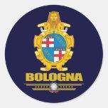 Bolonia Etiquetas Redondas